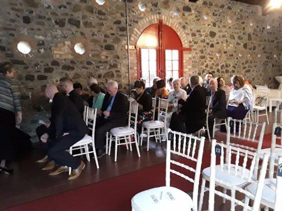 Craigavon, UK: Wedding ceremony barn