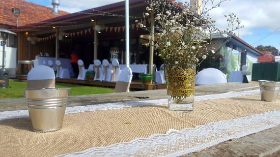 The Bunyip Hotel Casual Wedding Reception