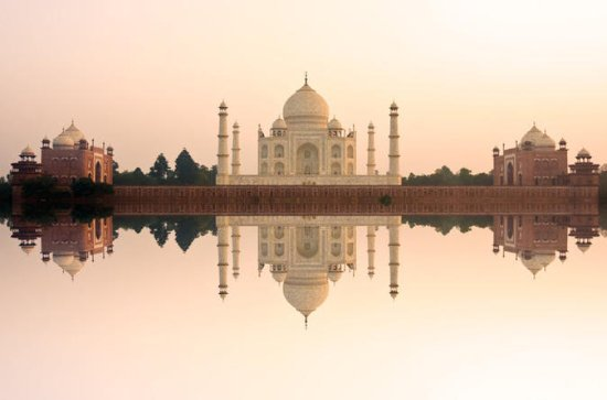 Private Day-Trip to Agra Taj Mahal at...