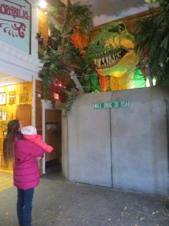 Wall, SD: See a T-Rex
