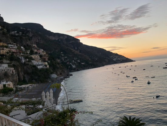Covo Dei Saraceni: Sunrise and beach view from our balcony