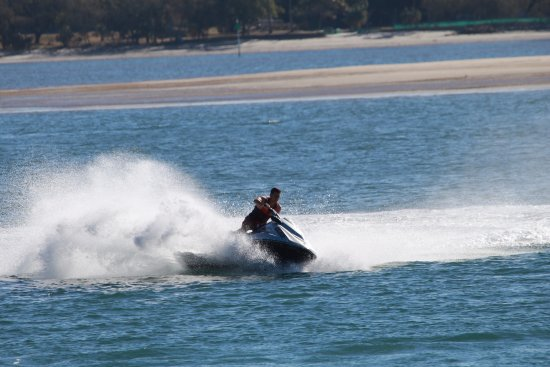 Main Beach, Avustralya: Try our jetski circuit or jetski tours for a great day out with Extreme Jet Ski