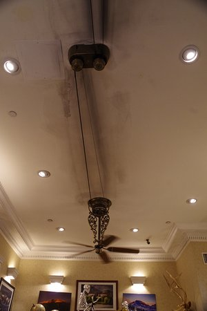 Stanley Hotel Belt Driven Ceiling Fan