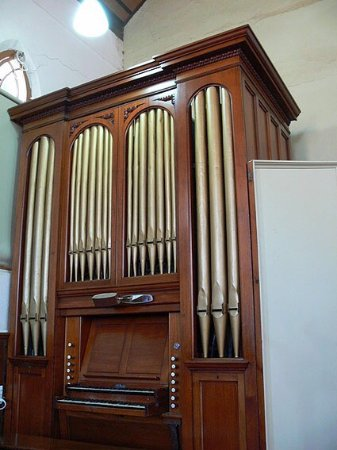 Stawell, Australia: heritage listed Hill organ