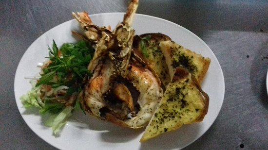 Pia's The Padi: Grilled Lobster