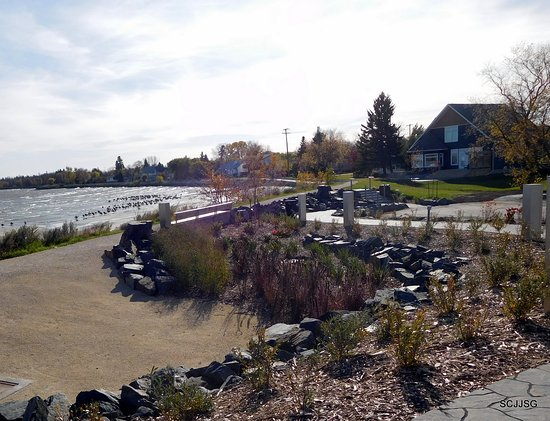 Gimli, Kanada: Lake Winnipeg's shores