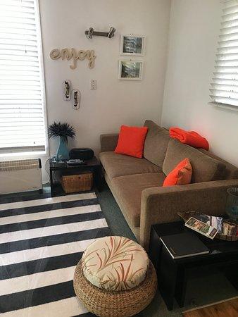 Warkworth, Новая Зеландия: The cosy lounge