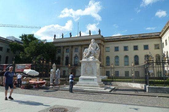 Denkmal Wilhelm von Humboldt