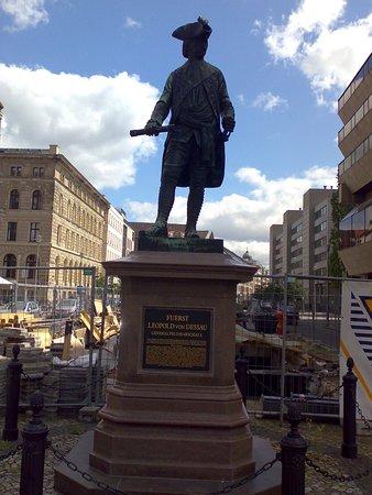 Statue of Fuerst Leopold von Dessau.