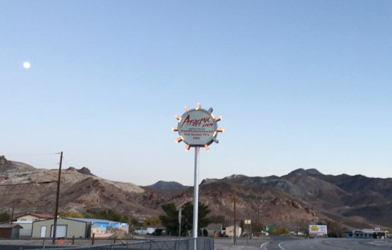 The Atomic Inn: View from the street