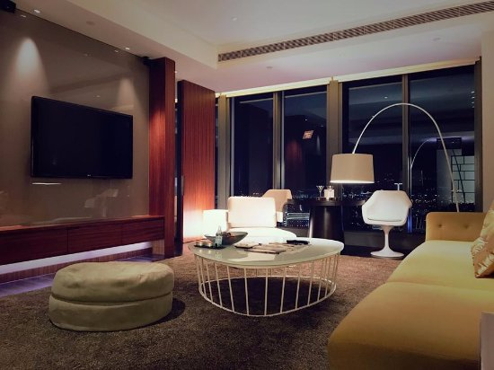 Living room - Night - Picture of W Taipei, Xinyi District - TripAdvisor