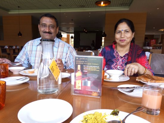 Hyatt Place Hampi: One of the best breakfast buffet.