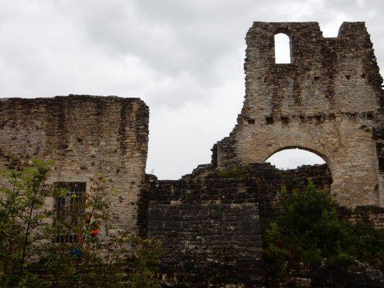 Kanfanar, Croacia: Quello che resta del palazzo