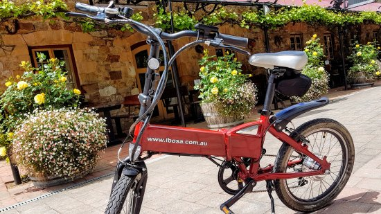‪‪Hahndorf‬, أستراليا: Blue Sky Rides Electric Bike Hire‬