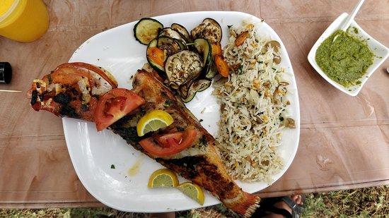Residence Capri: snack man