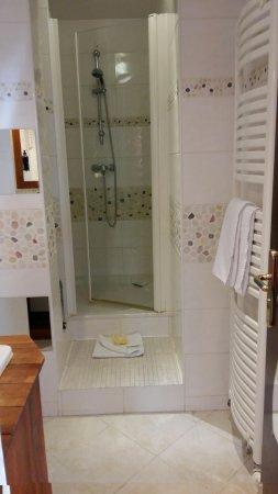 Hipotel Hostellerie du Lys: Salle de douche