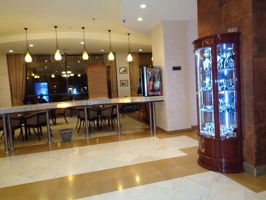 Ani Plaza Hotel: expositores