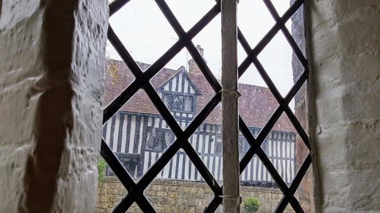 Lewes, UK: The view from the tearoom at Anne of Cleves house