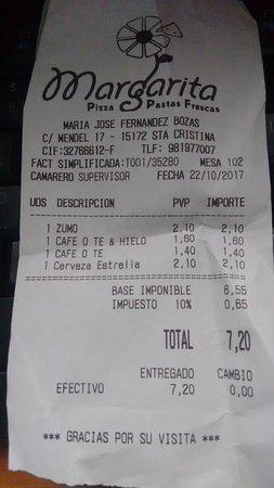 imagen Margarita en Oleiros