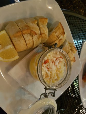 Iowa City, IA: King Crab Jar - to die for