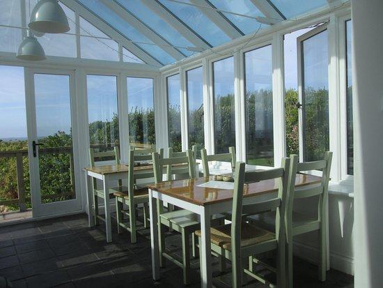 St Agnes, UK : Dining room