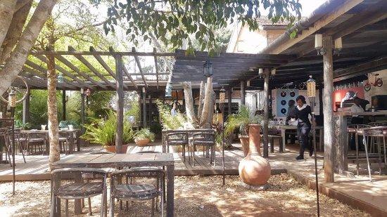 Marula Mercantile Rustic Outdoor Setup