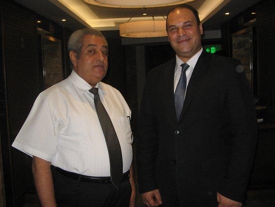 with Mr. Mostsfa Khalaf