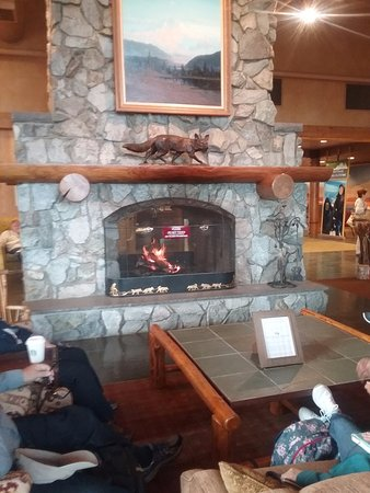 Trapper Creek, AK: Lobby