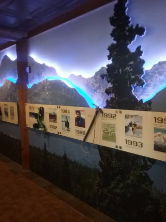 Trapper Creek, AK: The history of Mt McKinley. On a beautiful wall display