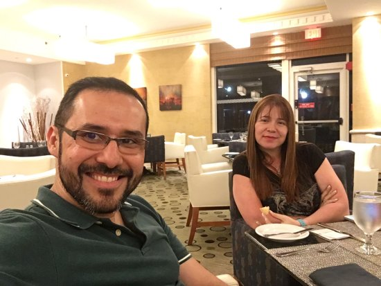 Four Points by Sheraton Miami Beach: Mi buena cena en el Sheraton
