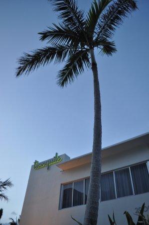 Tranquilo: Exterior of hotel.