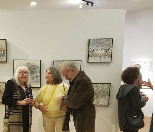 West Stockbridge, MA: An Artist's opening reception at the Diana Felber Gallery