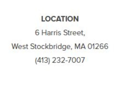 West Stockbridge, MA: Location of the Diana Felber Gallery