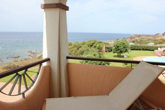 Portoscuso, Italy: balcony of suite