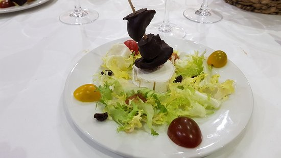 Restaurante Hotel Rural Ambasmestas: Genial menú de Jornadas gastronómicas del bierzo
