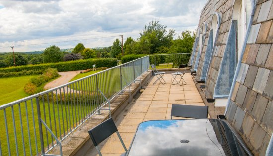 Risby, UK: Balcony- Holiday Home