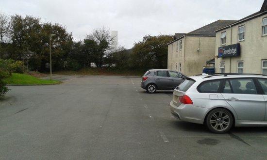 Roche, UK: Main Car Park