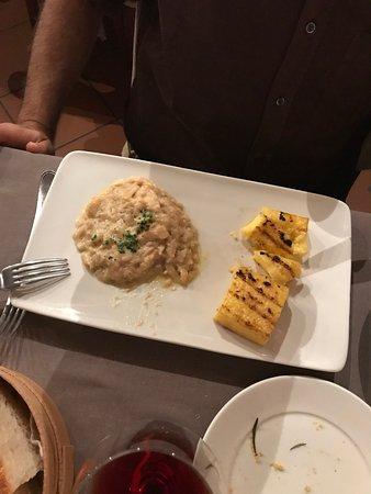 Custoza, Italien: Luccio con polenta