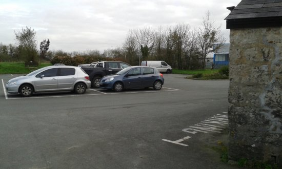 Roche, UK: Car Park