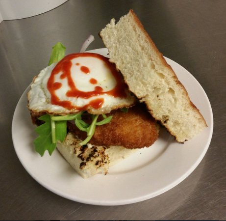 Columbia, MO: Pork T sandwich!  Add a farm fresh egg (or bacon) to any sandwich for $3!