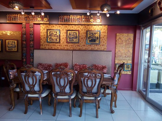 Interiors picture of kaali gourmet indian restaurant