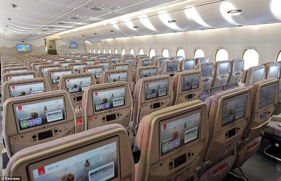 Interior Of Emirate A380 Picture Of Emirates Tripadvisor