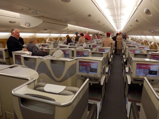 Emirates A380 Business Class Picture Of Emirates World Tripadvisor