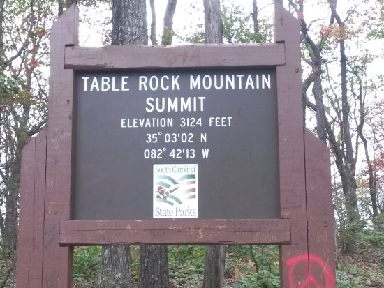 Pickens, SC: Table Rock Mountain Summit