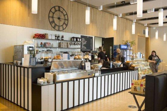 Bodo, Norvegia: Vår kafé på Stormen Bibliotek