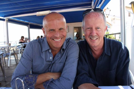 Miramar: Me with our friend Alan Fowler