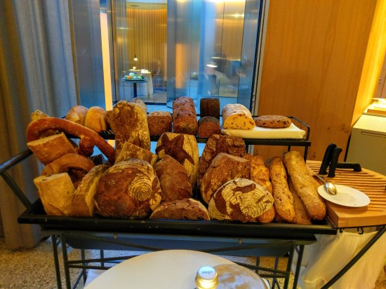 Steirereck: So much bread to choose from. And the cart came by multiple times during our meal.
