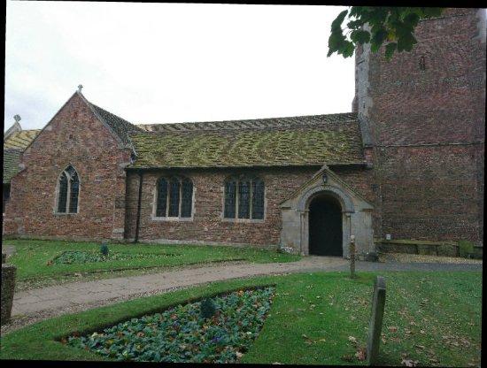 King's Lynn, UK: St. Faith's Church and grounds