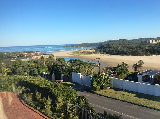 East London, South Africa: Stunning view from the room.