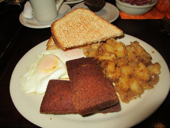 Poolesville, MD : squares of scrapple